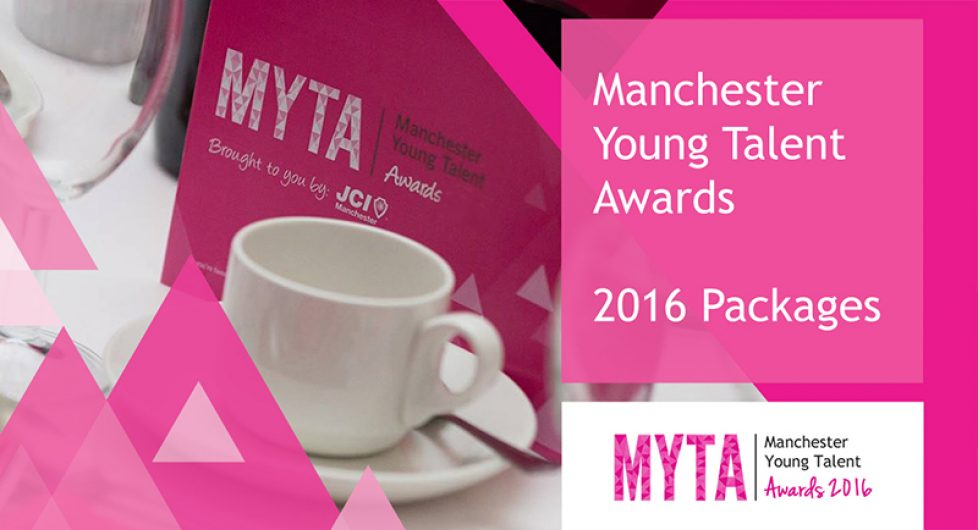 Manchester Young Talent Awards 2016 Brochure Cover