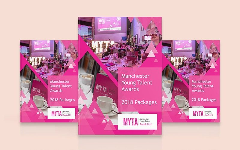 Manchester Young Talent Awards Brochure Design